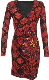 Desigual krátké šaty Grufe červená alternativy - Heureka.cz 99b39891f9