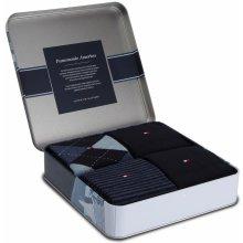 bf94492967 Tommy Hilfiger Sada 4 párů pánských vysokých ponožek 472024001 Dark Navy 322