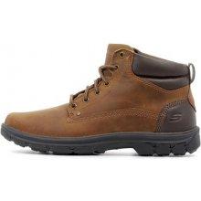 46825b1478b Skechers Kotníkové boty Relaxed Fit Segment Garnet Hnědá