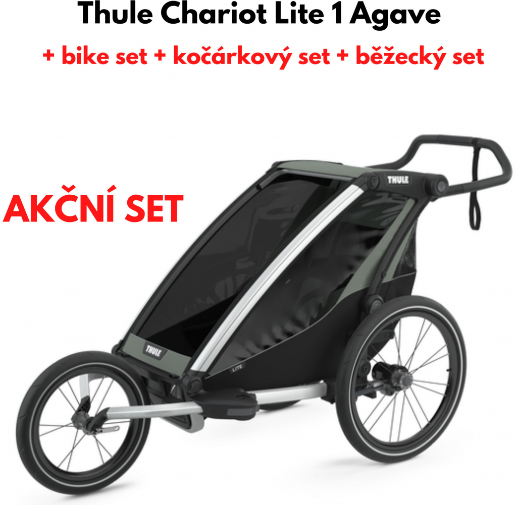 Recenze Thule Chariot Lite 1 2021