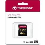 TRANSCEND SDXC Class 10 64GB SDC700S