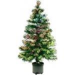 Stromek s optickými vlákny - multicolor, 80 cm