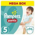 Pampers Pants 5 Junior 12-18 kg 96 ks