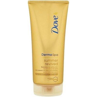 Dove Derma Spa tělové mléko Summer Rev fair 200 ml