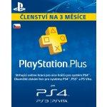 Sony PlayStation Plus členství 3 měsíce