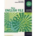 New English file Intermediate Studenťs Book s anglicko-českým slovníčkem - Clive Oxenden; Christina Latham-Koenig
