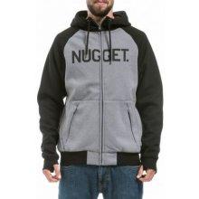 Nugget mikina Trigger 2 heather gray black b3dfb479570