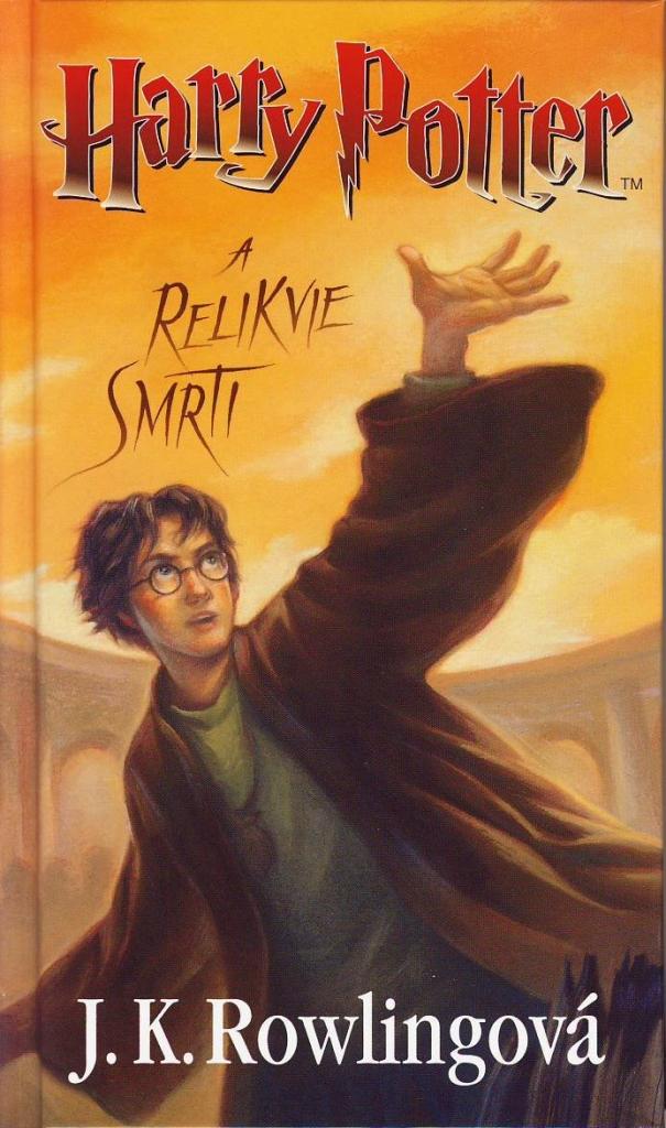 Výsledek obrázku pro harry potter a relikvie smrti kniha