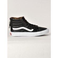 Vans Sk8-Hi Slim Zip Leather Black DU1