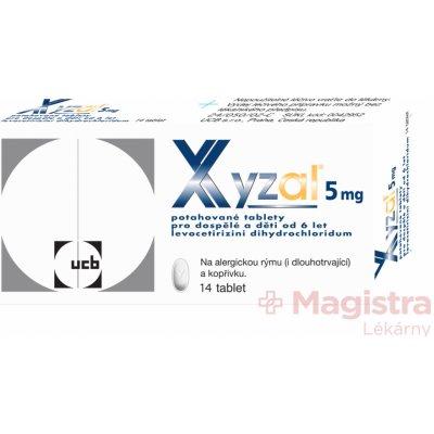 Xyzal por.tbl.flm. 14 x 5 mg