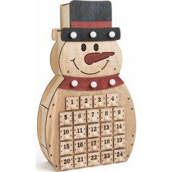 SMALL FOOT BY LEGLER Dřevěný adventní kalendář Sněhulák