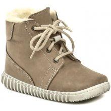 Pegres 1705 dětské kotníčkové Barefoot botičky béžové 8f5b0a444c