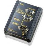 Aten VS-102 VGA splitter / 2-portový (1 PC - 2 monitory) / 250MHz