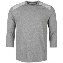 G Star Raw Marc Newson Leather Patch T Shirt Grey