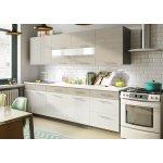 ALFASHOP kuchyně Mia 260 dub picard/bílá lesk