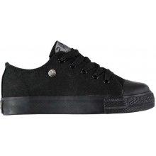 Dunlop Canvas Low dětské Trainers black/black