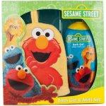 Sesame street 2 x pěna 236 ml + žínka dárková sada