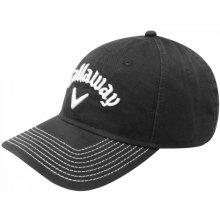 Callaway Lo Pro Golf Cap Black Pánské