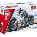 Meccano Motocykly 5v1