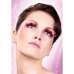 Baci Purple-Orange-Yellow Glitter Eyelashes 517 Umělé řasy