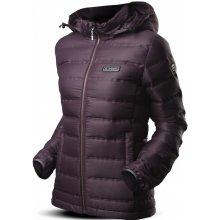 Dámské bundy a kabáty nachová 83938f8a85