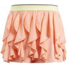 b204a660fa36 Dětská tenisová sukně Adidas Frilly Skirt chalk coral