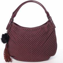 dámská elegantní kabelka Florrie vínově červená ce3b8dd732e