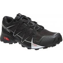 Salomon Speedcross Vario 2 Mens Trail Running Shoes Black/Black
