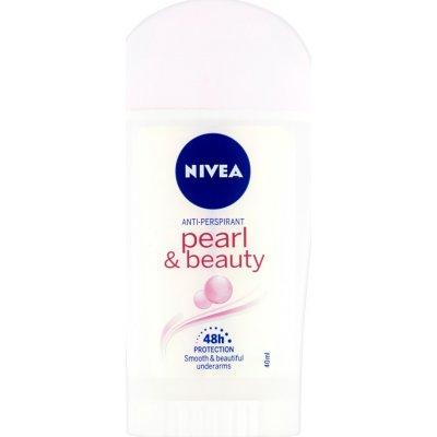 Nivea deo pearl&beauty stick 40 ml + Nivea Creme 75 ml dárková sada