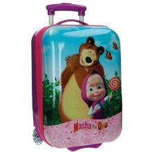 JOUMMABAGS ABS cestovní kufr Máša a Medvěd 48 cm
