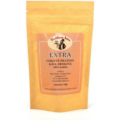 Frolíkova čerstvá zrnková Extra káva 250 g