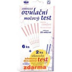 Comfort Ovulační test proužek 8 ks