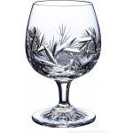 ONTE CRYSTAL Broušené skleničky na rum/brandy/koňak Větrník Balení Dárkové balení v saténu 2 ks 280ml