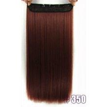 Clip in vlasy 61cm 120g - odstín 350(měděná)