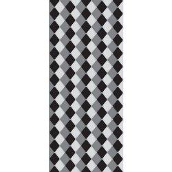 242f70580 Dveřní fototapeta - DV0380 - Šachovnicový vzor - šedý Vlies - 91cm x 211cm