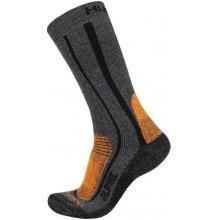 Husky ponožky Alpine New oranžová