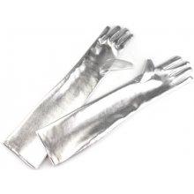 Stoklasa rukavice 43 cm stříbrná