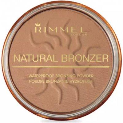 Rimmel Natural Bronzer voděodolný bronzující pudr SPF15 22 Sun Bronze 14 g