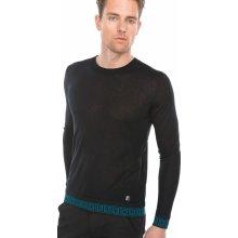 Svetr Versace Collection Černá Modrá Pánské