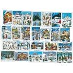 Vánoční pohlednice Josef Lada - mix motivů