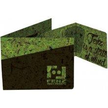 Fenz Zelená papírová peněženka PCW Muschio Zelená