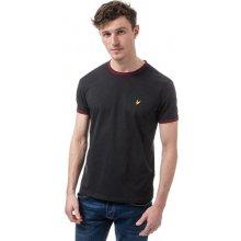 Lyle And Scott Mens Ringer T Shirt Black