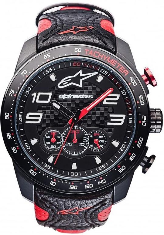 26b76f346 Alpinestars TECH RACE CHRONO černá/červená, kožený pásek od 6 640 Kč -  Heureka.cz