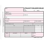 Optys 1037 Výdajový pokladní doklad