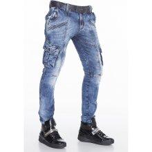 CIPO & BAXX kalhoty pánské CD383,