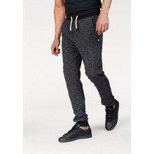 Bruno Banani Bavlněné kalhoty, černý melír