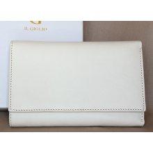 Bílá kožená peněženka Il Giglio