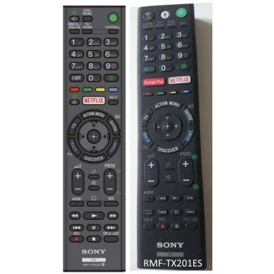 Sony RMT-TX100D byl nahrazen RMF-TX201ES originální dálkový ovladač