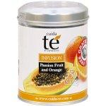Cuida Té Passion Fruit and Orange sypaný speciální čaj ze sušeného ovoce dóza 100 g