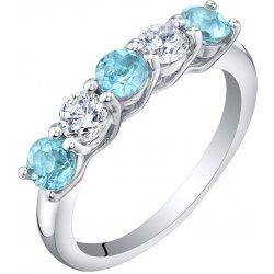 1306ede74 Eppi Stříbrný eternity prsten s topazy a zirkony Parry R35994 ...
